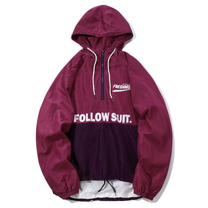 Follow Suit. 1/4 Zip Up Hoodie
