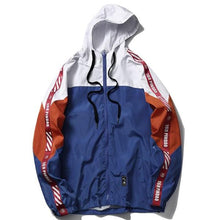 Load image into Gallery viewer, Simple Patch Windbreaker Jacket