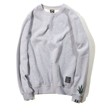 Load image into Gallery viewer, Weed Leaf Embroidery Logo Hoodie