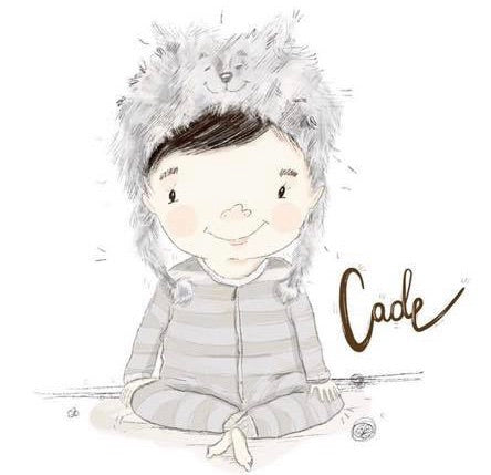 """Cade"" Sticker"