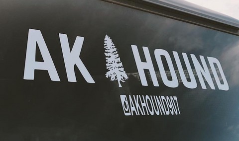 Ak Hound Logo Decal