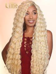 Virgin #613 13x6 Kinky Curly 150% Density Lace Front Wig