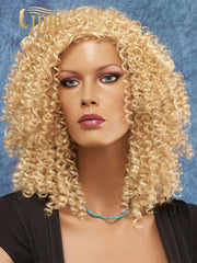 Virgin #613 13x4 Kinky Curly 150% Density Lace Front Wig