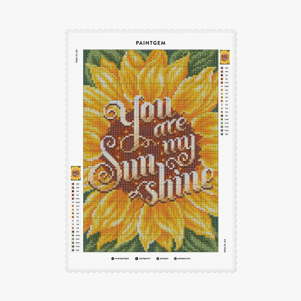 Sunflower Letters