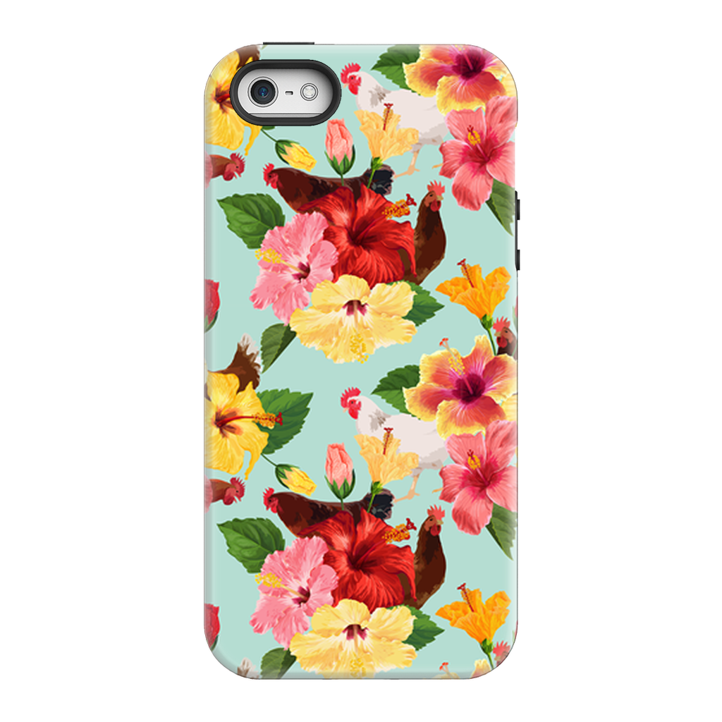 Tropical Chicken Vibes Phone Case