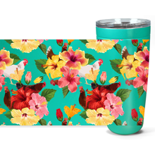 Load image into Gallery viewer, Tropical Chickens Insulated Tumbler