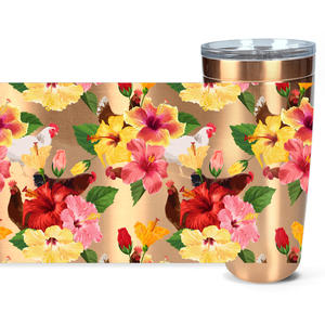Tropical Chickens Insulated Tumbler