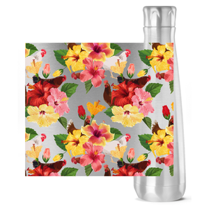 Tropical Chickens Insulated Water Bottle