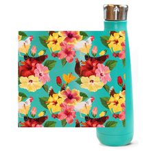 Load image into Gallery viewer, Tropical Chickens Insulated Water Bottle