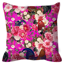 Load image into Gallery viewer, Secret Chicken Garden Outdoor Pillow, Rooster