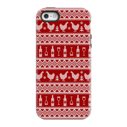 DWC Ugly Holiday Sweater Phone Case