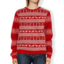 Load image into Gallery viewer, DWC Ugly Holiday Sweater Sweatshirt