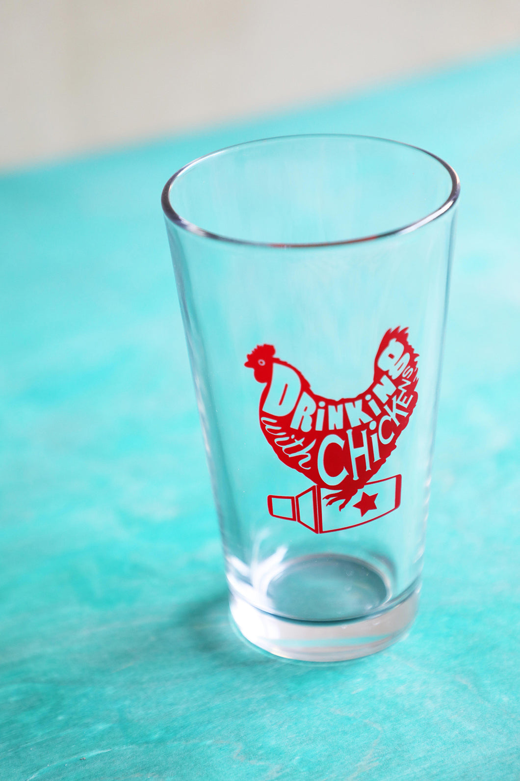 DWC Logo Pint Glass