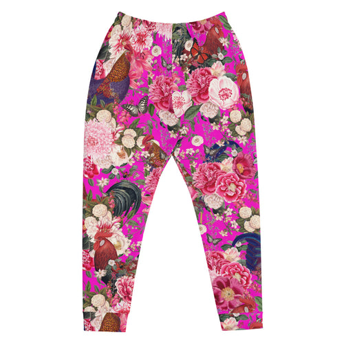 Secret Chicken Garden Unisex Joggers, Roosters