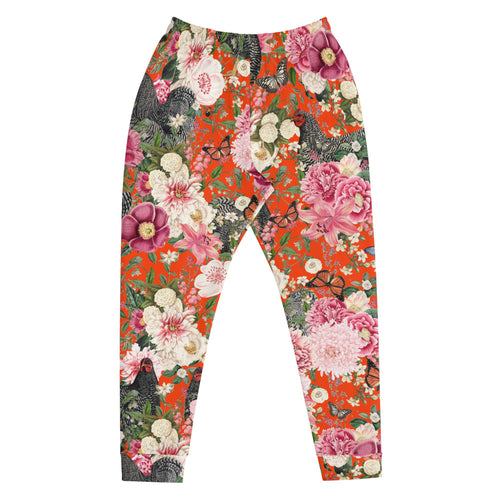 Secret Chicken Garden Unisex Joggers, Barred Rock