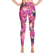 Load image into Gallery viewer, Secret Chicken Garden Yoga Leggings, Rooster