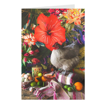 Load image into Gallery viewer, Still Life with Fat Chicken Folded Notecards