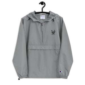 DWC Logo Embroidered Champion Packable Jacket