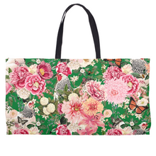 Load image into Gallery viewer, Secret Chicken Garden Weekender Tote, Light Brahma