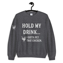 Load image into Gallery viewer, Hold My Drink Unisex Sweatshirt