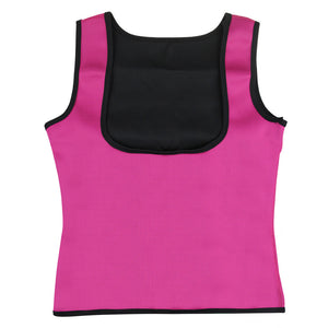 New Hot Sale Neoprene Body Shaper Exercise Slimming Waist T-Shirt Top Vest Underbust Fashion Slim Women Clothes
