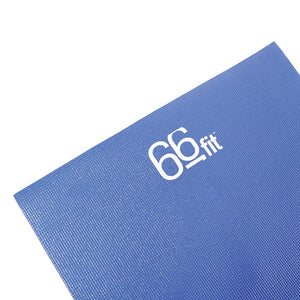 66fit Yoga Mat and Carry Bag - 3.5mm x 60cm x 173cm