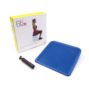 66fit Inflatable Wedge Cushion & Pump