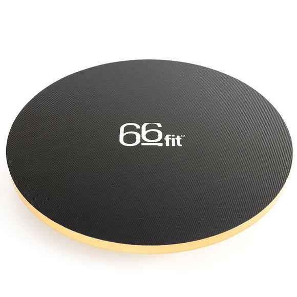 66fit Wooden Balance Board - PVC Surface - 40cm