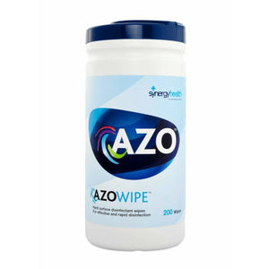 Azo Wipettes Hard Surface Disinfectant Wipes - Canister of 150