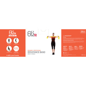 66fit Exercise Bands - 25m