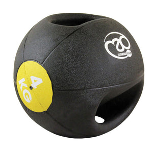 Fitness-Mad Double Grip Medicine Balls - 4kg - 10kg