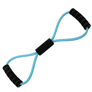 Fitness-Mad Figure Eight Resistance Band - Light, Medium & Strong