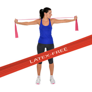 MoVeS LATEX-FREE Exercise Resistance Bands x 45.5m
