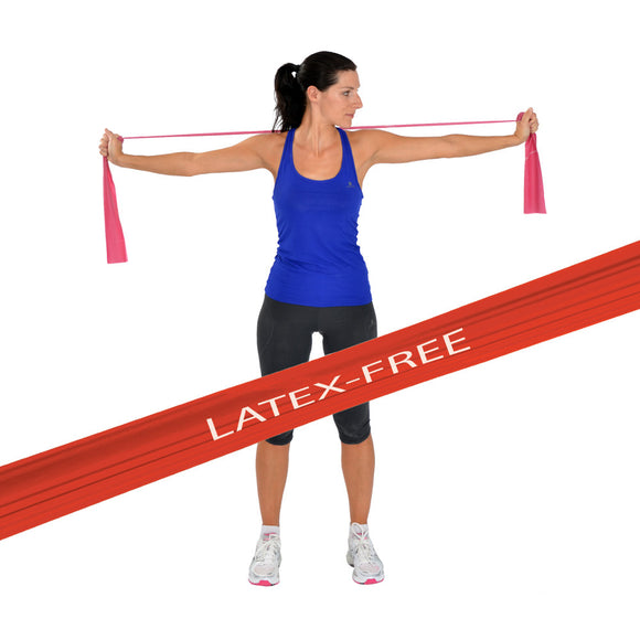MoVeS LATEX-FREE Exercise Resistance Bands x 1.5m
