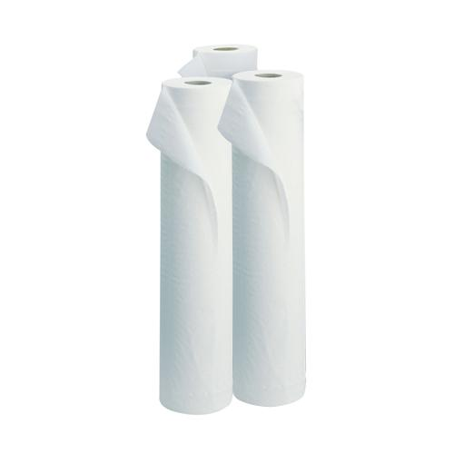 Envirotex 2 Ply Couch Roll - White x 9 rolls