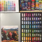 Broken Color Technique: Applications to Pastel Painting / Sharon / Summer Session B