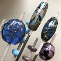 CLOSED: Making Glass Beads Workshop / Sharon / Summer Session B