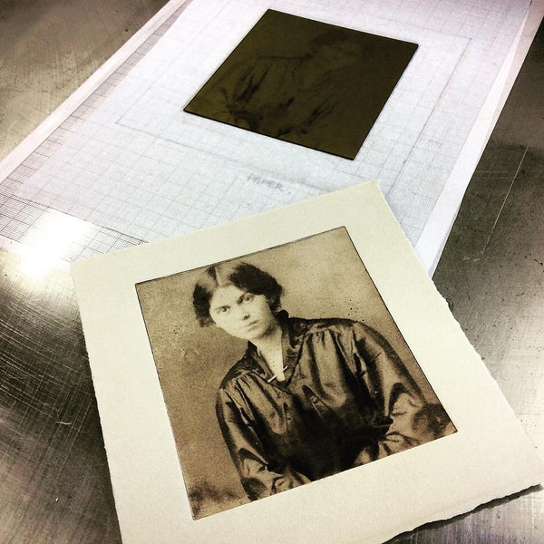 Exploring Solarplate Prints Workshop / Manchester / Summer Session B