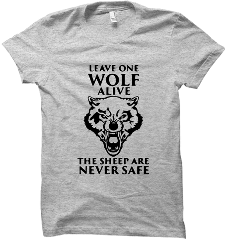 GOT-42 Leave One Wolf Alive Grey