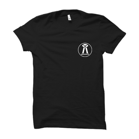 Lawyer Logo Half Sleeve-Black