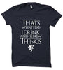 Image of I Drink and I know Things 1