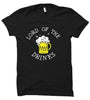 Image of GOT-45 Lord of the Drinks-Black Half Sleeve