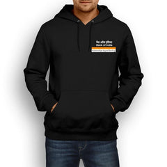 Bank Of India Logo Hoodie