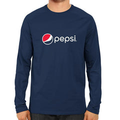 PEPSI Full Sleeve-Navy Blue