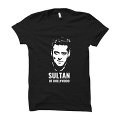 Sultan Of Bollywood -Half Sleeve Black