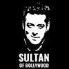 Image of Sultan Of Bollywood -Half Sleeve Black