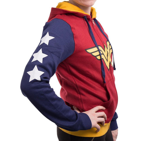 Wonder Woman Multi color Hoodie