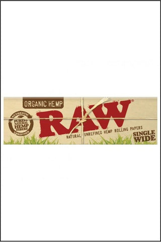 Papers - Raw Organic Single Wide Size