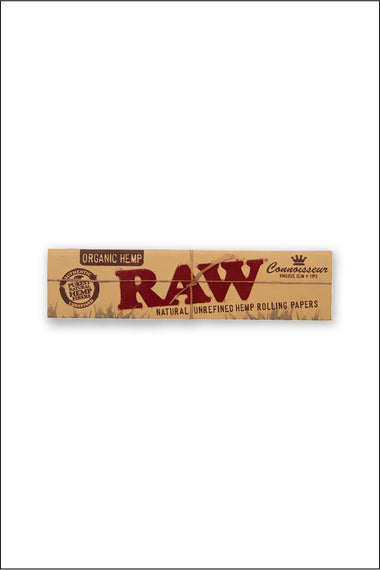Papers - Raw Organic Connoisseur King Size w/Tips