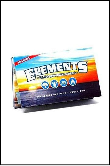 Papers - Elements 1 1/4 Size Double Pack
